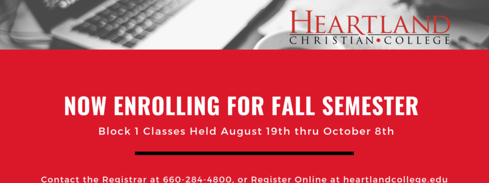 Enroll in a Bible College Class